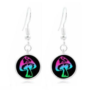 Jewelry - Psychedelic Mushroom Earrings